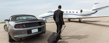 Private Jets And Airport Preparation For 2018 World Economic Forum